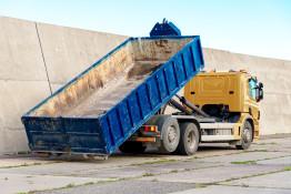 Odvoz betonu z D1